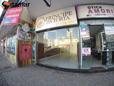 Excelente Ponto Comercial Para Locação Anual No Centro De Guarapari É Só Nas Imobiliárias Itamar - Pt00056 - 32730239