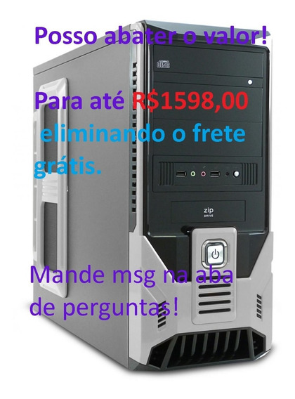 Cpu Gamer Amd A6 3670 3.2ghz 6gb 1tb Gtx 750 1gb Fonte 500w