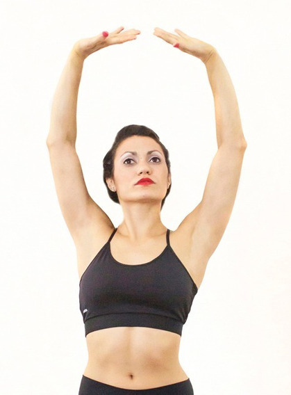 Top Deportivo Mujer Training Espalda Cruzada Tela No Laicra