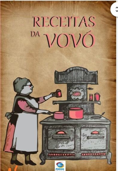Livro Receitas Da Vovó