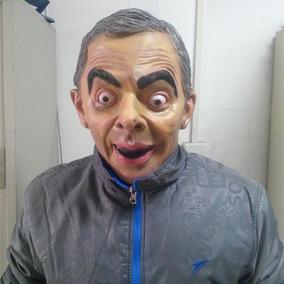 Máscara Mr Bean Engraçado Máscara De Látex
