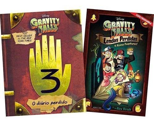 O Diário Perdido De Gravity Falls + Lendas Perdidas 4 Histó