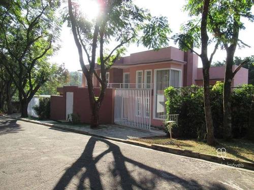 Casa Com 4 Dormitórios À Venda, 620 M² Por R$ 2.500.000,00 - Granja Viana - Carapicuíba/sp - Ca0349