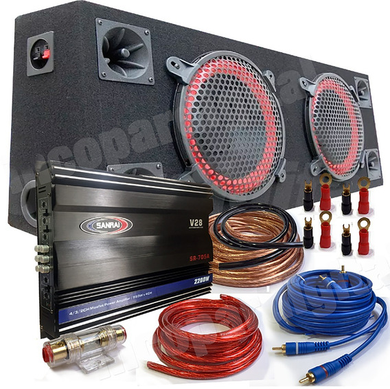 Combo Woofer Doble 2 X 10
