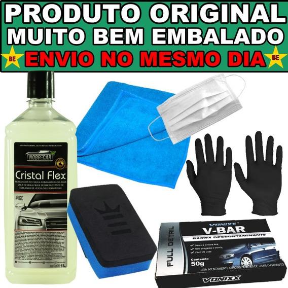 Removedor De Chuva Ácida Cristal Flex Vonixx Clay Bar 50g