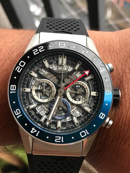 Relógio Masculino Tag Pulseira De Silicone