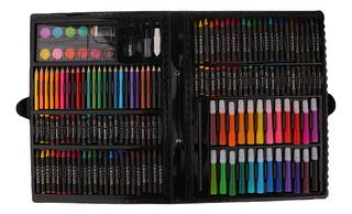 168pcs Làpices Kit Fijar Caso Dibujo Arte Pluma De Pintura