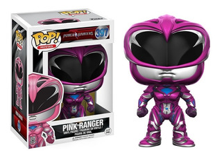 Funko Pop Pink Ranger Power Ranger Coleccion Muñeco Original