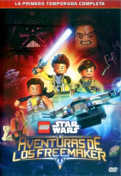 Lego Star Wars Aventuras De Los Freemaker Temp 1 2dvd Nuevo
