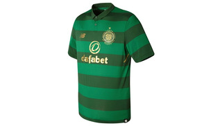 Camiseta Fútbol New Balance Hombre Celtic Suplente Mt730045