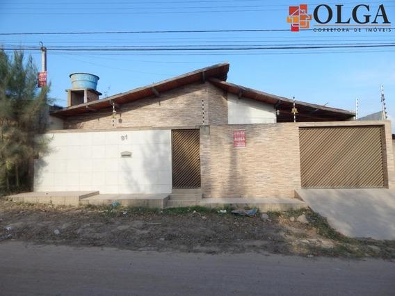 Casa Com 3 Dormitórios Para Alugar, 80 M² Por R$ 1.100,00/mês - Prado - Gravatá/pe - Ca0069