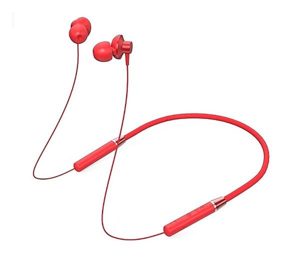 Lenovo Bluetooth Fone De Ouvido Ipx5 Vermelho