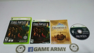 Final Fantasy 11 Online Ultimate Collection Xbox 360