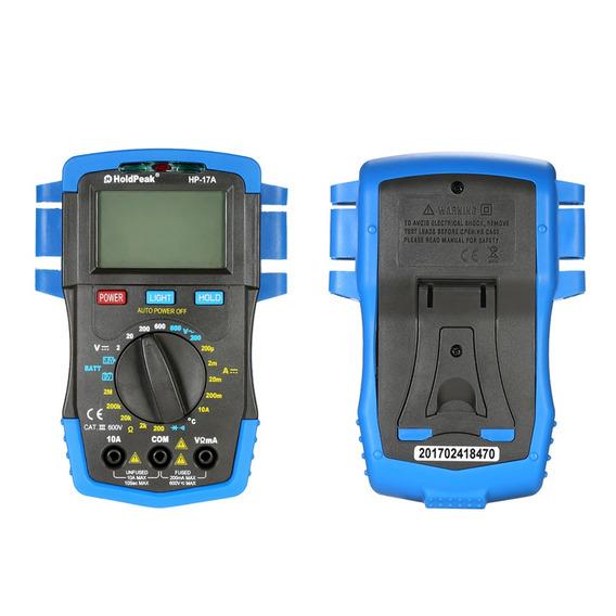 Holdpeak Backlight Visor Lcd Multmetro Digital Dc / Ac
