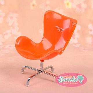Design Color Cadeira Pra Boneca Barbie Blythe Pullip Fr