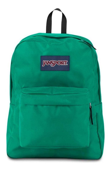 Mochila Jansport Superbreak Varsity Green