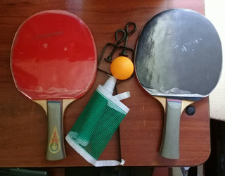 Set De Ping Pon Gold Cup