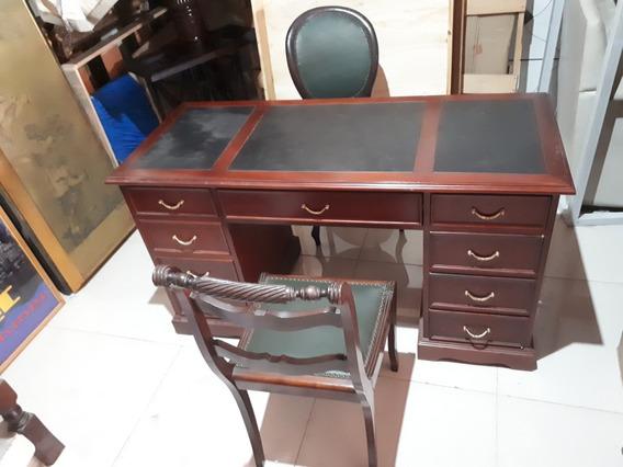 Mesa E Cadeira De Escritório Originais Antigas Raras Anos 50