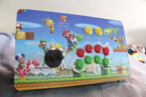Controle Arcade Xbox 360   Ps3   Ps2   Raspberry + Brinde