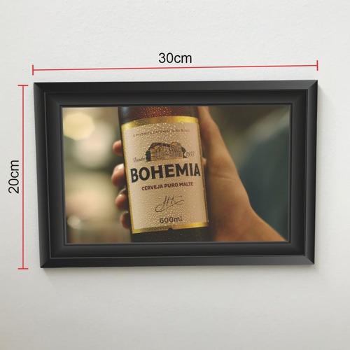 Quadro 30x20 Cerveja Bohemia 2