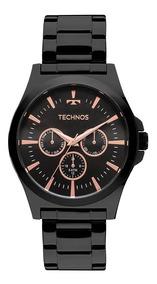 Relógio Technos Masculino Classic Preto 6p29ajl/4p