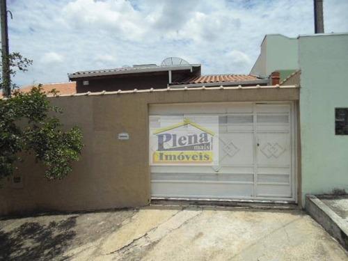 Casa  Residencial À Venda, Vila Valle, Sumaré. - Ca2146
