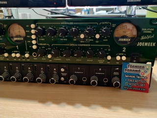 Preamplificador Joemeek Twinq Dual Channel Strip Inpecable