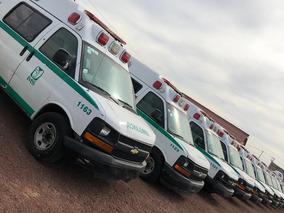 Ambulancias Chevrolet Modelo 2008