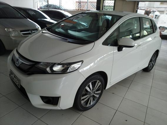 Honda Fit Ex 1.5 Automatico 2015 Branco Muito Novo
