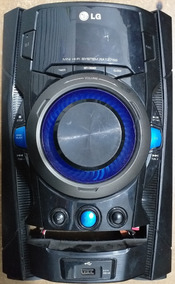 Carcaça Frontal Completa Som Lg Modelo Rat376b