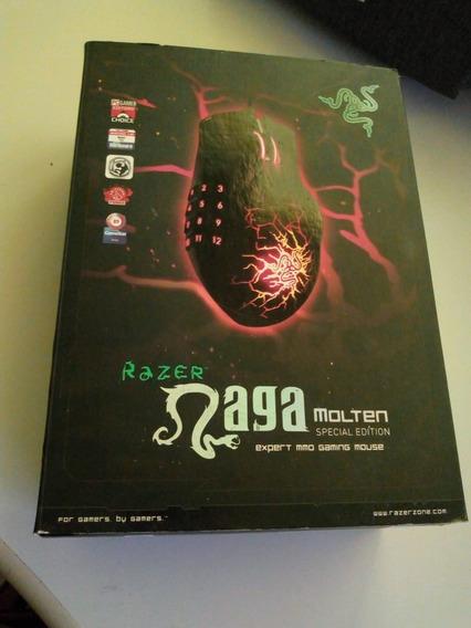 Mouse Razer Naga Molten Special Edition