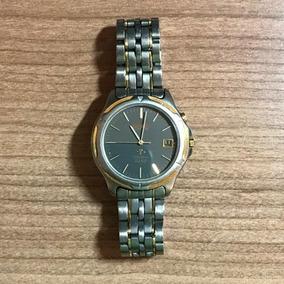 Relógio De Pulso Seiko Em Titânio E Safira - S/ Caixa