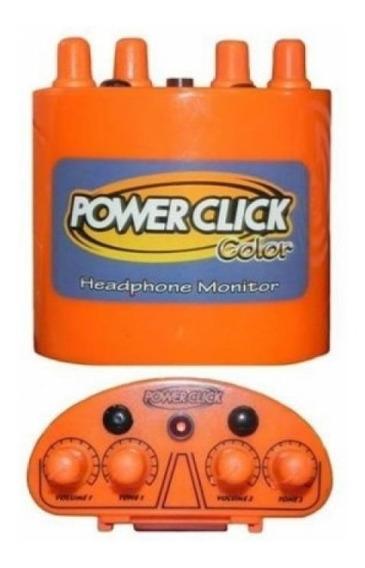 Monitor Individual De Áudio Power Click Fc1 - Laranja