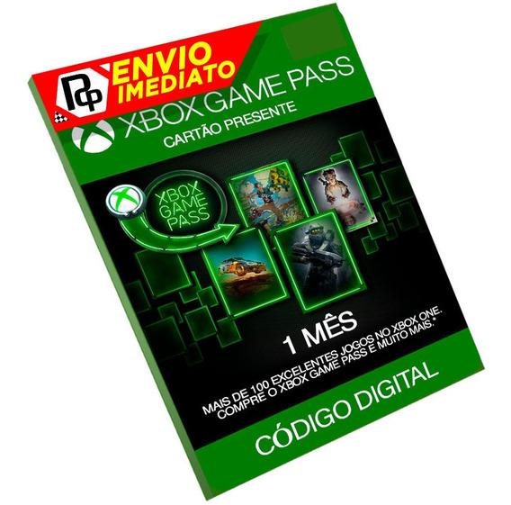 Cartão Game Pass Xbox R$29 Reais Original Br 1 Mês (30 Dias)