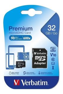 Memoria Micro Sd 32gb Sandisk + Adaptador