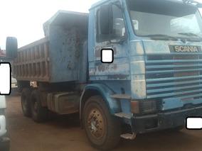 Scania R 113 Ano 96 Traçada - Caçamba