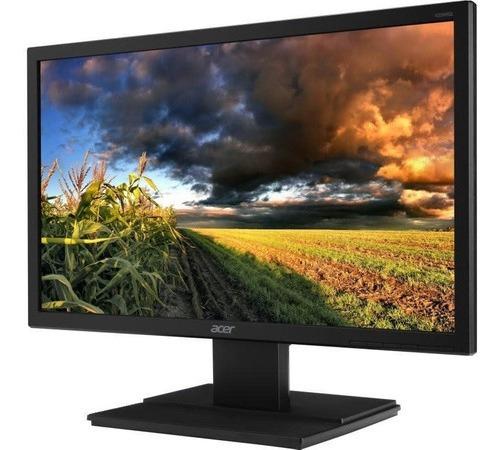 Monitor Pc 20 Slim Led Acer V206hql Vesa Hdmi Vga Widescreen