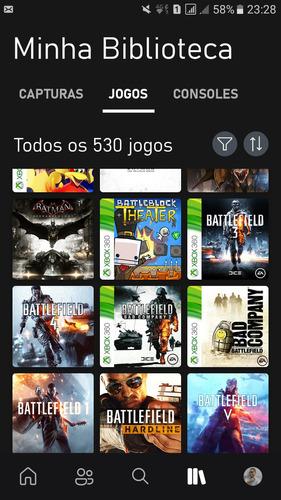 Conta Xbox Live