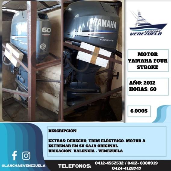 Motor Yamaha Four Stroke 60hp Lv592