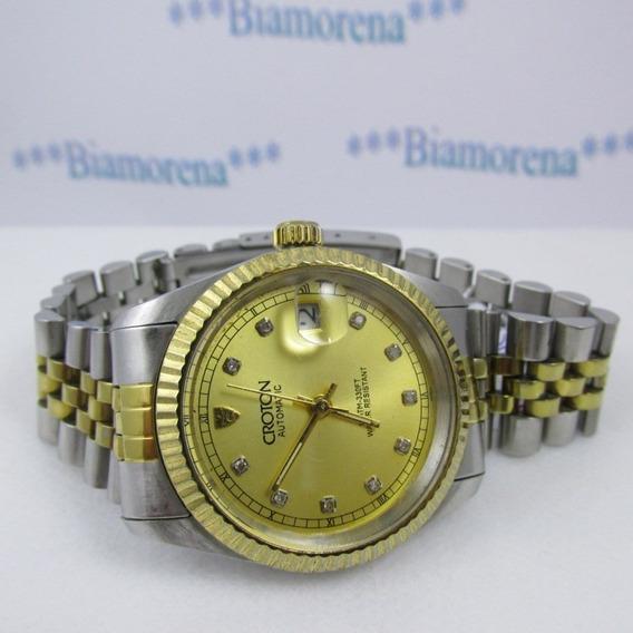 Relógio Croton Automatic. Antigo. De Pulso. Masc.coleções.83