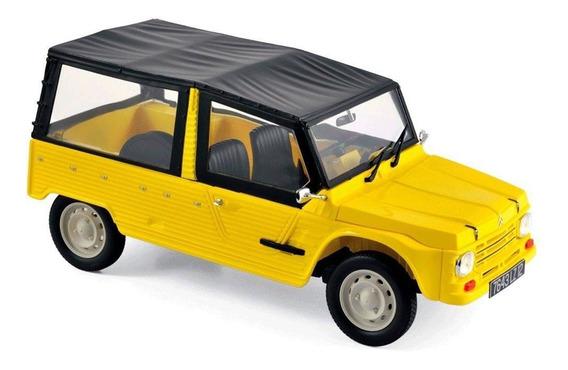 Miniatura Carro Norev Citroen 1983 - Escala 1/18 - Amarelo A
