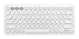 Teclado Logitech K380 Multidispositivos Bluetooth - Blanco
