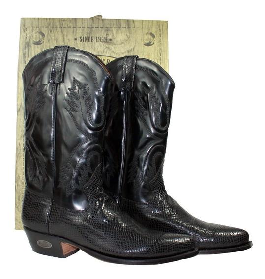 Botas Hombre Vaqueras Texanas Piel De Serpiente Modelo 0263z