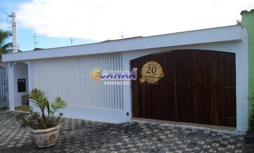 Casa Com 2 Dorms, Balneário Flórida Mirim, Mongaguá - R$ 350 Mil, Cod: 7304 - V7304