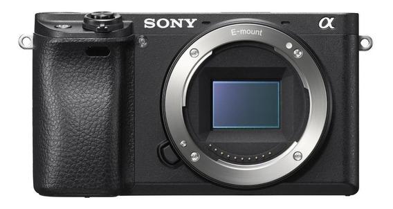 Sony Alpha 6300 Mirrorless Cor Preto.