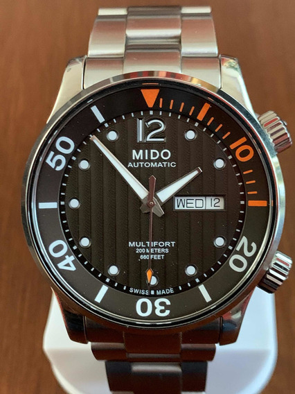 Reloj Mido Multifort Two Crowns Automático