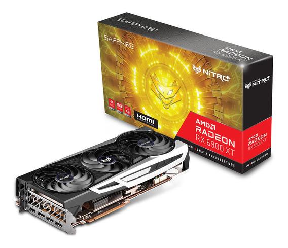Placa De Video Sapphire Radeon Rx 6900 Xt Nitro+ 16gb 3x Amd