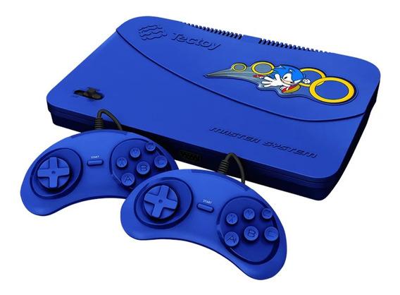 Console Master System Evolution Com 132 Jogos Na Memória