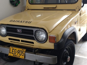 Daihatsu F20 Modelo 83 Pintura Original 124000 Kilómetros