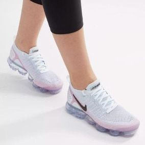Tenis Feminino Nike Air Vapormax Flyknit 2 Pink Beam Origina